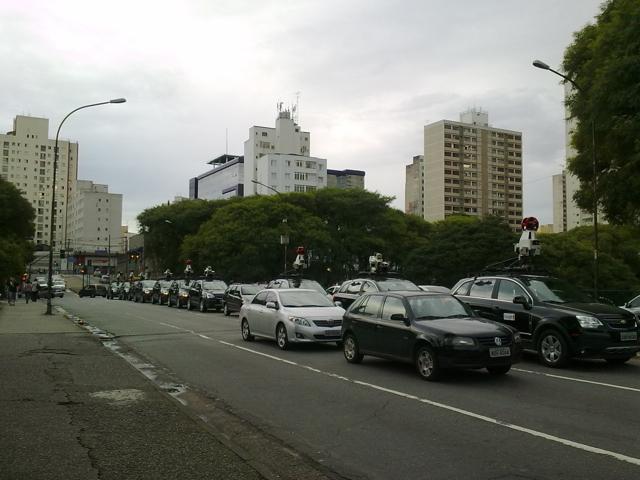 200120110231 Novos carros do Google Street View desfilam por São Paulo