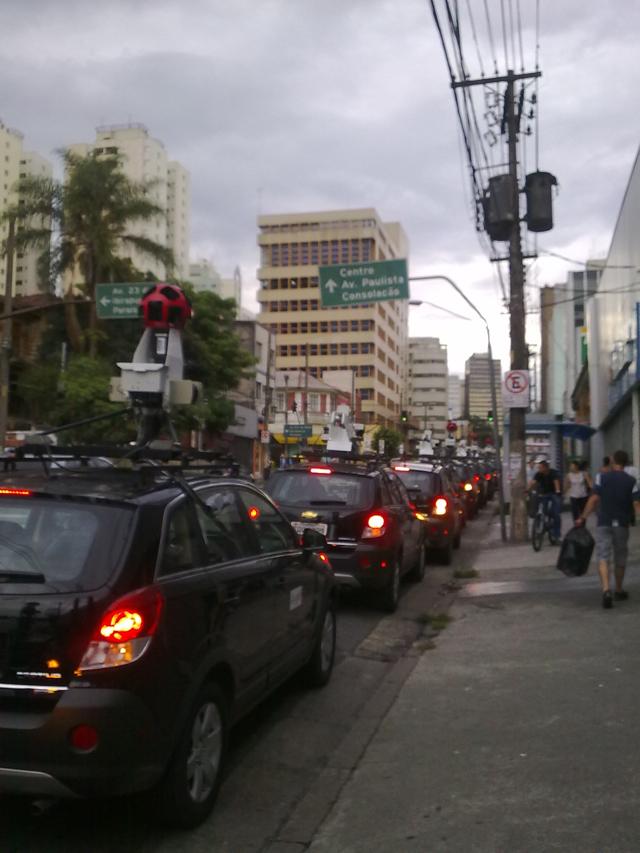 200120110251 Novos carros do Google Street View desfilam por São Paulo