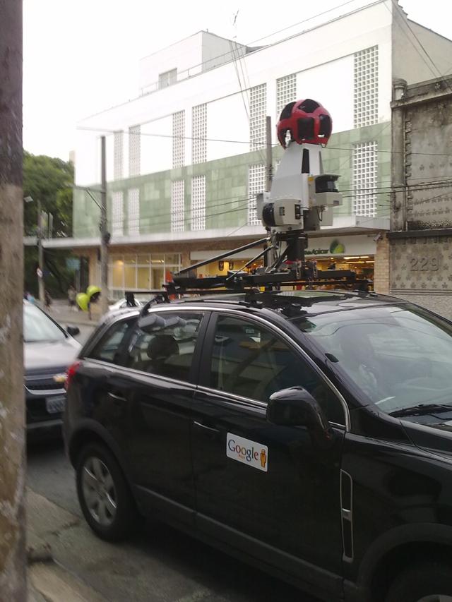20012011026 1 Novos carros do Google Street View desfilam por São Paulo