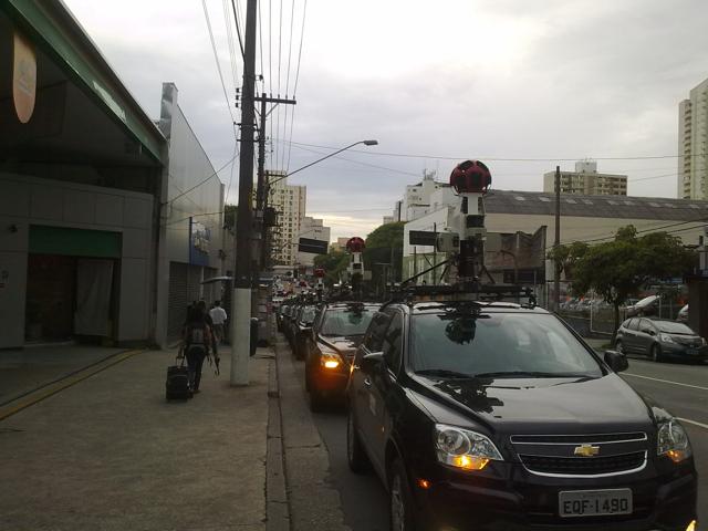 200120110271 Novos carros do Google Street View desfilam por São Paulo