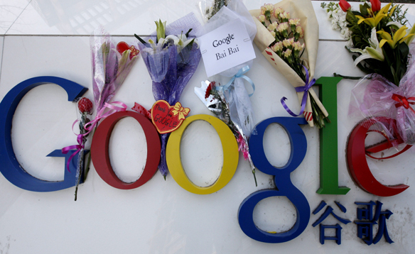 Google ameaça sair da China Google-China