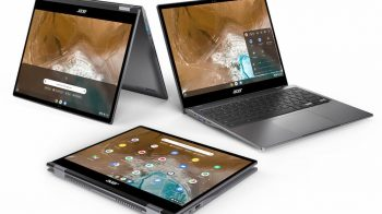 Acer lança Chromebook Spin 713 2K conversível baseado no projeto Athena