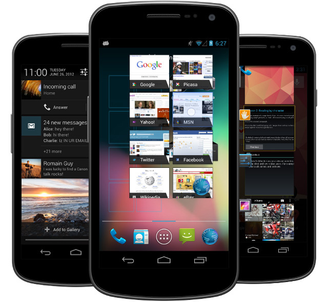 android jelly bean Batalha Móvel: Google Search vs. Apple Siri