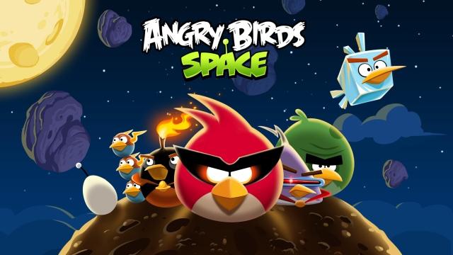 Angry birds o angry birds space que foi desenvolvida em uma parceria