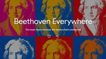 250 anos de Beethoven no Google Arts & Culture