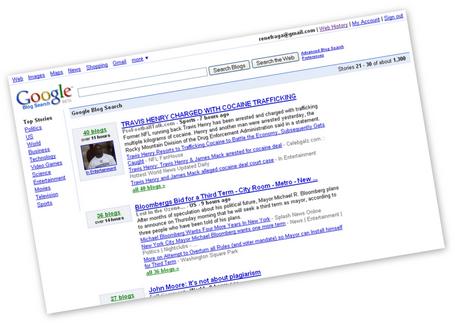 google blog. blogsearchpop Google Blog