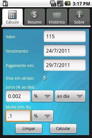 boleto1  Boleto Pago, um app para Android que calcula juros e multas de boletos vencidos