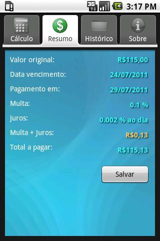 boleto2  Boleto Pago, um app para Android que calcula juros e multas de boletos vencidos