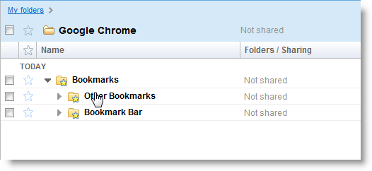 bookmarks chrome docs Sincronização de Favoritos no Google Chrome