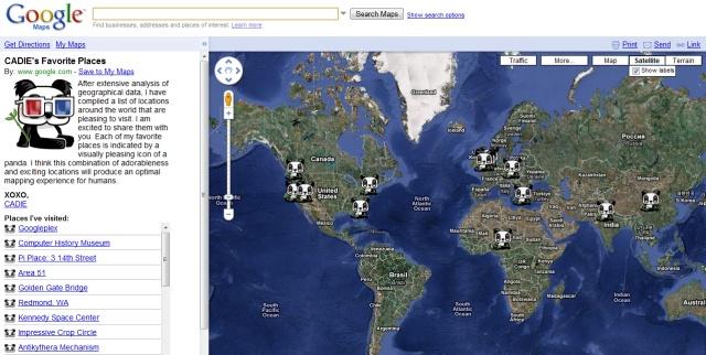 cadiegooglemaps Lugares Favoritos da CADIE no Google Maps