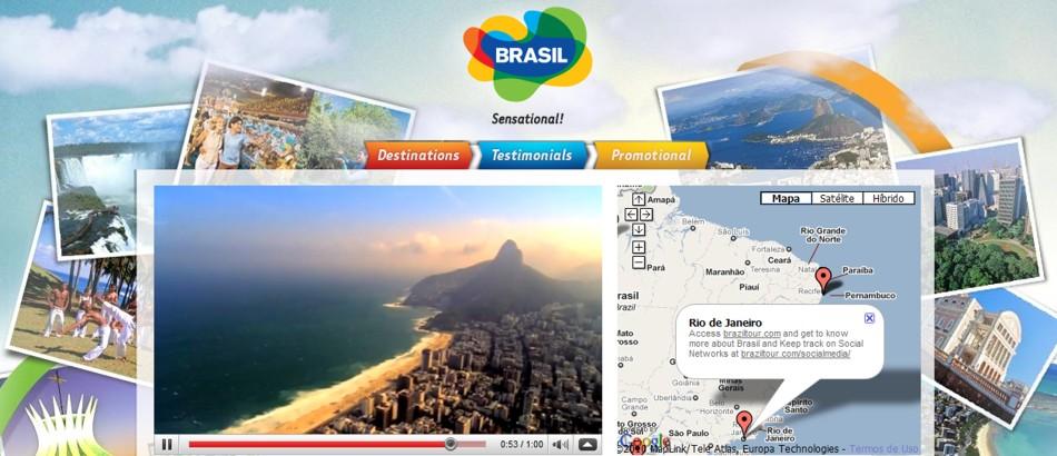 canal brasil youtube Google e Embratur promovem o Brasil através do YouTube