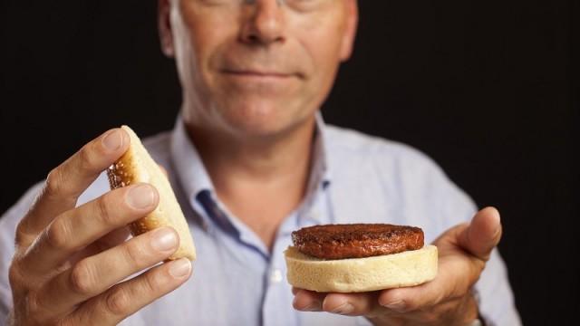 Test-tube burger