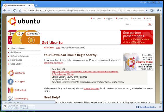 chrome no linux