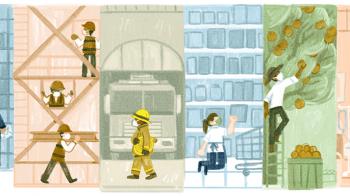 Dia do Trabalhador ganha Doodle no Google