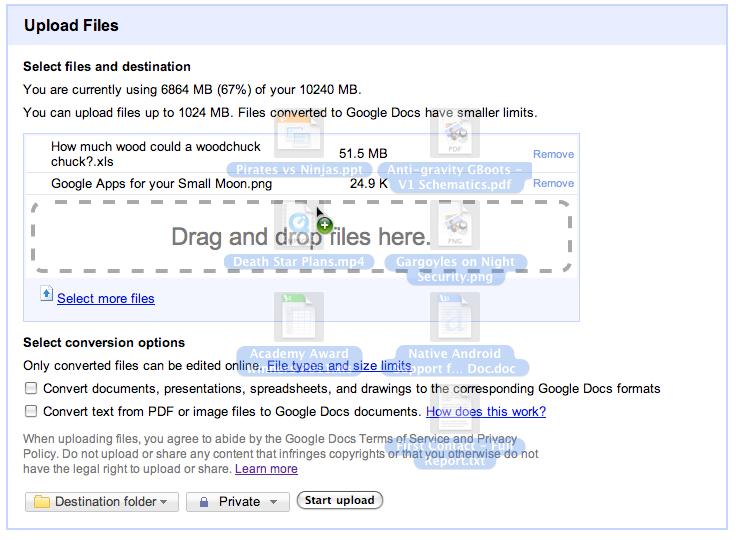 draganddrop Recurso de arrastar e soltar chega ao Google Docs