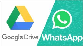Google pode limitar tamanho do backup do WhatsApp