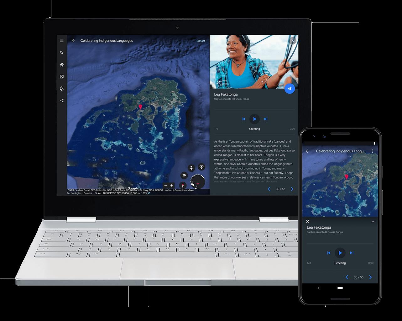Google Earth lança projeto que celebra línguas indígenas