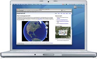 earthapi mac Google Earth Browser Plugin para Mac