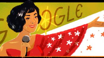 Elizeth Cardoso, cantora e atriz brasileira, ganha Doodle do Google