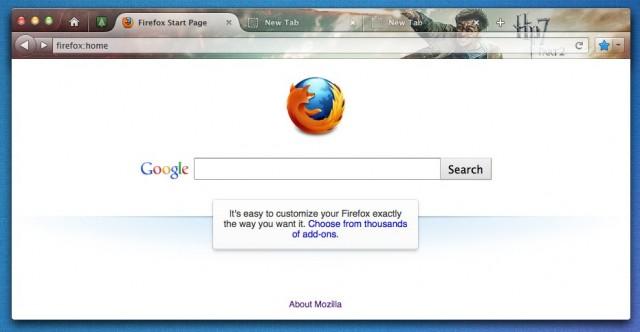 firefox interface6 e1312228968288 Mozilla pode mudar novamente a interface do Firefox