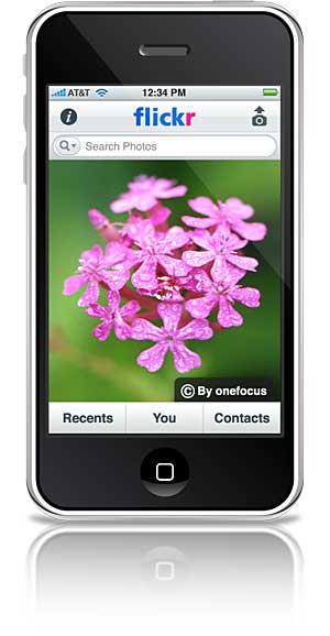 flickr iphone Novo aplicativo do Flickr para iPhone e iPod touch