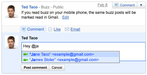 gmail buzz autocomplete 5 dicas para melhor aproveitar o Google Buzz