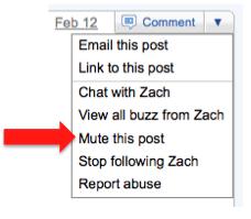 gmail buzz mute 5 dicas para melhor aproveitar o Google Buzz