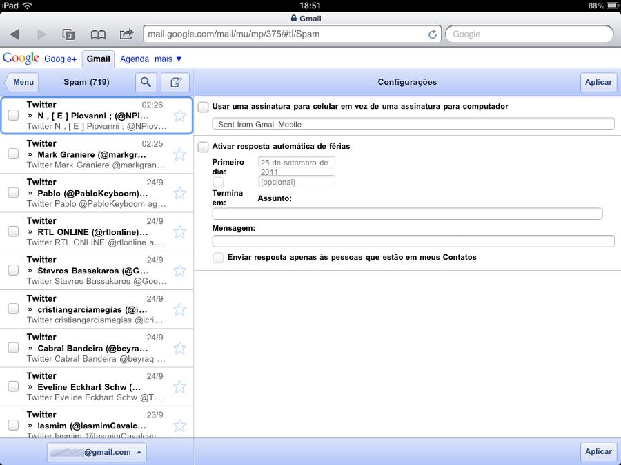 gmail mobile assinatura Gmail mobile passa a permitir múltiplos logins