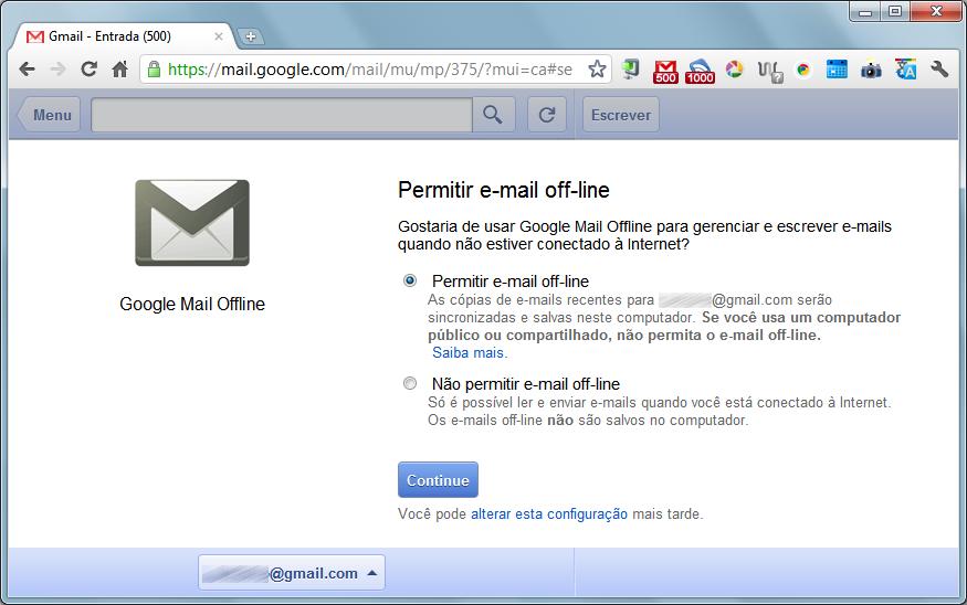 gmail offline Gmail, Google Docs e Calendar ganham versões offline