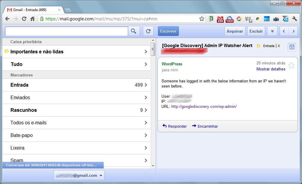 gmail offline menu Gmail, Google Docs e Calendar ganham versões offline