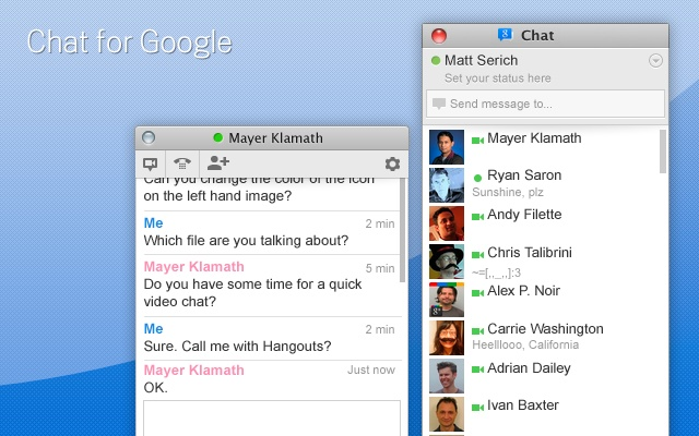 google chat Google Chat para Chrome chega ao Windows, Mac e Linux