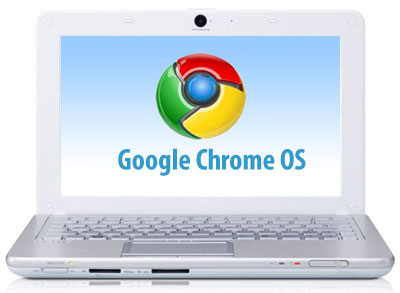 google chrome os1 Netbooks com Google Chrome OS só em 2011