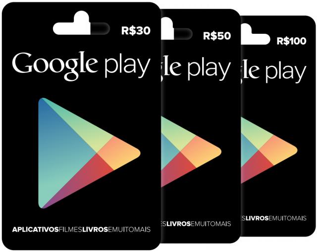 Google lança Gift Cards para o Google Play no Brasil ...
