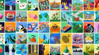 Ilustrações do Google que você pode usar como fotos de perfil