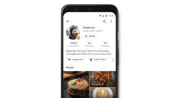 Siga usuários e receba recomendações e atualizações no Google Maps