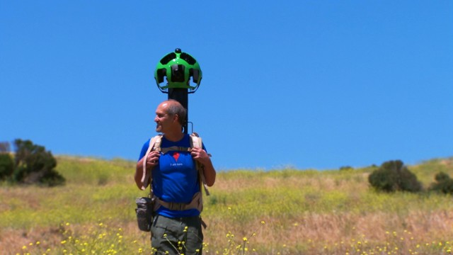 Google Street View Trekker | Fotos