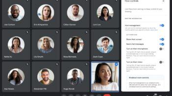 Google Meet ganha bloqueio de áudio e vídeo