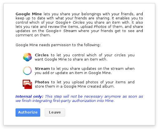 google-mine