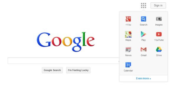 google-navegacao-barra