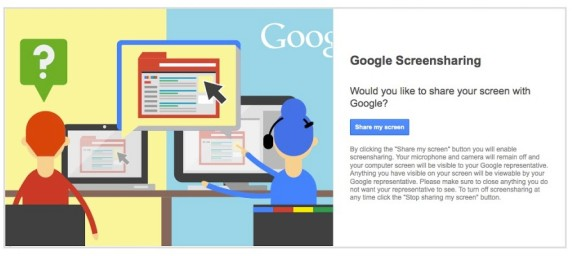 google-screensharing