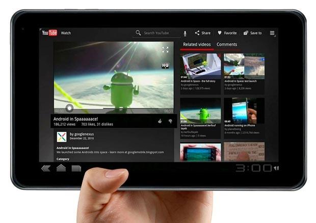google tablet e1325870567319 Tablet do Google deve chegar somente em Junho