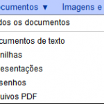 google docs menu documentos 150x150 O Google Docs já está virando GDrive? Acho que sim.