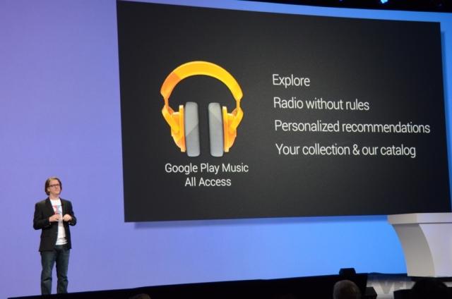 Google anuncia serviço de streaming de músicas (Foto: The Verge)