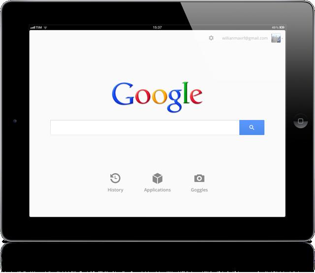 Google ipad 1