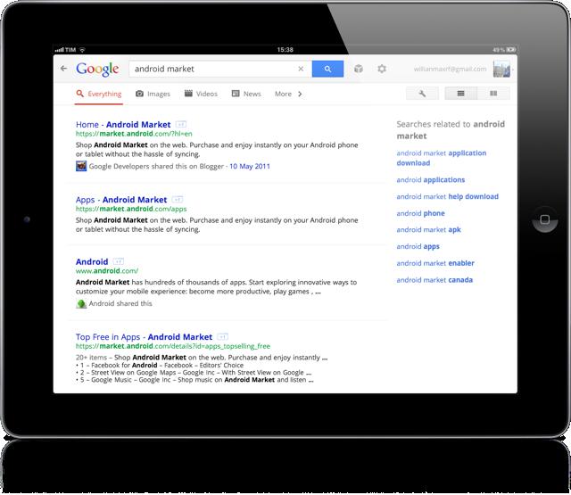 Google ipad 3