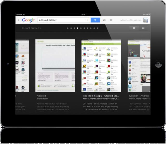 Google ipad 5