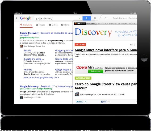 Google ipad 8