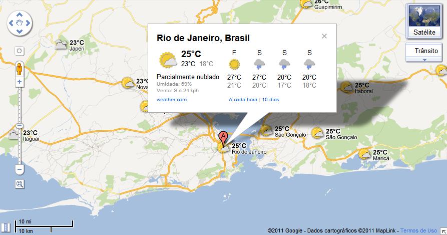 google mapas previsao tempo web Google Maps ganha camada com previsão do tempo