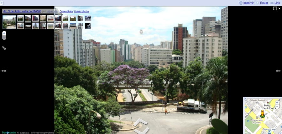 google maps panoramio street view 3 Google Maps Brasil começa a integrar fotos do Panoramio ao Street View
