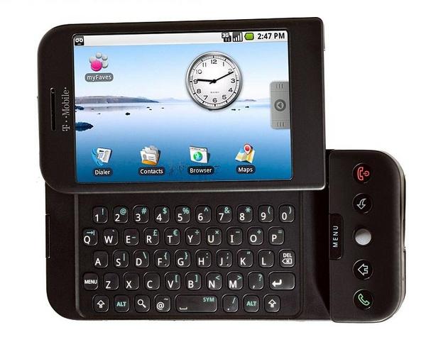 T-Mobile G1: primeiro Android foi anunciado há 13 anos